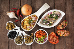 Spanish tapas Stock Image