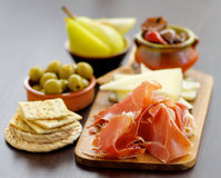 Spanish Tapas Royalty Free Stock Photography