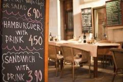 Spanish tapas bar Royalty Free Stock Image