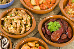 Spanish Tapas Stock Photography