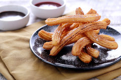 Spanish tapas churros Royalty Free Stock Images