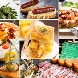 Spanish tapas Royalty Free Stock Image