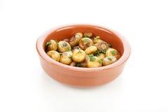 Spanish Tapas Mushrooms Stock Image