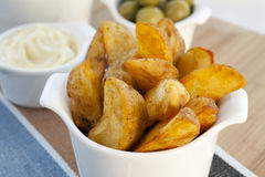 Spanish Tapas, Patatas Bravas Stock Photography