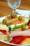 Spanish tapas selection, Spain. Stock Images