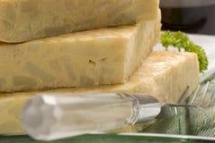 Spanish tapas. Spanish omelet. Royalty Free Stock Image