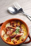 Spanish tapas style octopus Stock Photos