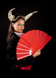 Spanish taurus girl Royalty Free Stock Photos