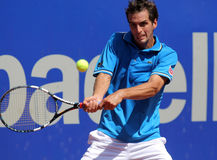 Spanish tennis player Albert Ramos Stock Image