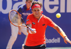 Spanish tennis player David Ferrer Stock Images