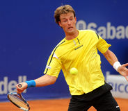 Spanish tennis player Gimeno-Traver Royalty Free Stock Images