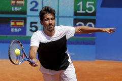 Spanish tennis player Marc Lopez Royalty Free Stock Image