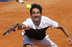 Spanish tennis player Marc Lopez Stock Images