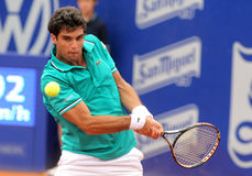 Spanish tennis player Pablo Andujar Stock Image