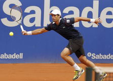 Spanish tennis player Pablo Andujar Royalty Free Stock Photo