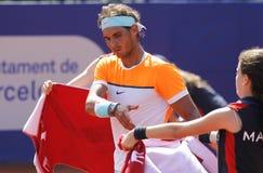 Spanish tennis player Rafa Nadal Royalty Free Stock Photo