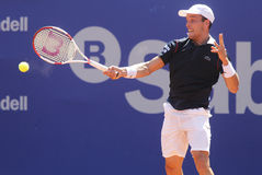 Spanish tennis player Roberto Bautista Agut Stock Photos