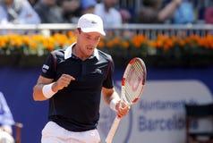 Spanish tennis player Roberto Bautista Agut Royalty Free Stock Photos