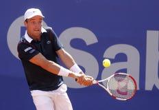 Spanish tennis player Roberto Bautista Agut Stock Photography