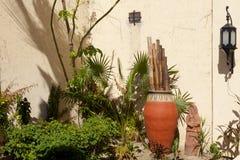 Spanish theme garden Stock Photo