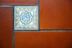 Spanish tile Stock Images
