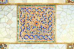 Spanish tile Royalty Free Stock Photo