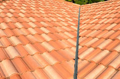 Spanish tile roof Royalty Free Stock Photos