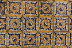 Spanish Tiles. Traditional Spanish Tiles cover the walls of the Convent of Santo Domingo in Lima, Peru Royalty Free Stock Photography