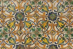 Spanish Tiles Royalty Free Stock Photos