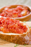 Spanish Tomato Bread Stock Image