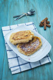 Spanish torrijas, eggy bread, french toast Stock Images