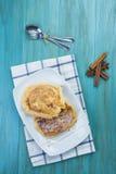 Spanish torrijas, eggy bread, french toast Royalty Free Stock Photography