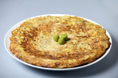 Spanish tortilla Stock Photos