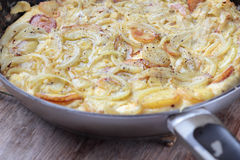 Spanish tortilla. Royalty Free Stock Image