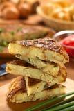 Spanish Tortilla Omelette Royalty Free Stock Photo