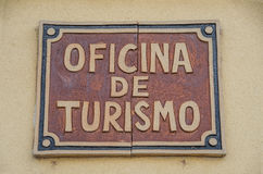 Spanish tourist office Royalty Free Stock Images