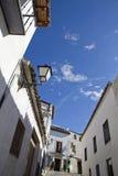 Spanish town Stock Image