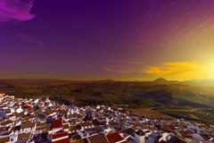 Spanish Town obrazy stock