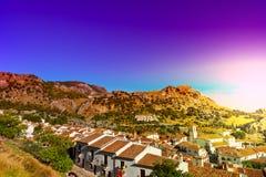 Spanish Town zdjęcia stock