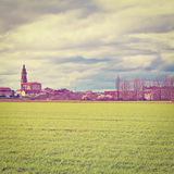 Spanish Town Zdjęcie Stock