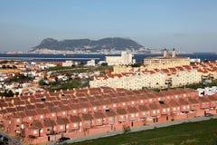Spanish town Algeciras Stock Photos