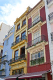 Spanish Town House Stock Photo