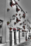 Spanish Town House. Aspanish Town house in a southern Spanish town Stock Photo