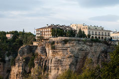 The spanish town Ronda in Andalusia, Spain. Stock Images