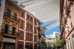 Spanish town Seville Royalty Free Stock Photos