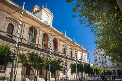 Spanish town Seville Royalty Free Stock Images
