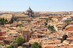Spanish town of Toledo Royalty Free Stock Photo