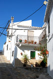 Spanish townhouse, Comares. Stock Photography