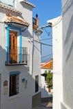 Spanish townhouse, Comares. Stock Photos
