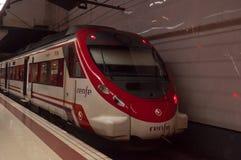 Spanish train Royalty Free Stock Images